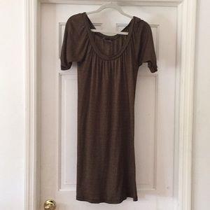 Michael Stars brown dress size large
